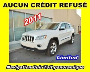 2011 Jeep Grand Cherokee LIMITED NAV CUIR **TOIT PANORAMIQUE*