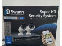 Swann NVR4-7400 4 Channel 4 Megapixel - 2 Camera CCTV Kit