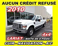2010 Ford F-350 Lariat*Toit ouvrant,cuir,nav*