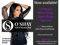 FREE wash and blow with your hair extensions
