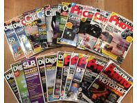 A collection of digital photography magazines