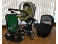 Mamas & Papas Travel System - Pushchair, Pram, Car Seat, Isofix Base