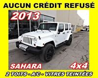 2013 Jeep WRANGLER UNLIMITED Sahara*2 TOITS*4x4