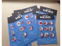 Cafe Nero X 10 Coffee Cards Loyalty Cards Entitles You To Any Size Tea Caffè caffe Coffee Frappe