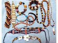 African style brown accessories