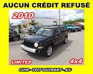 2010 Jeep Patriot Limited ** CUIR + TOIT OUVRANT **