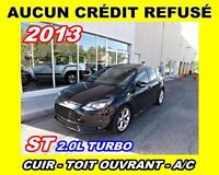 2013 Ford Focus 2.0L TURBO*cuir,toit ouvrant*