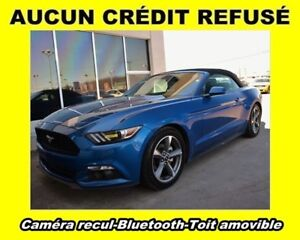 2017 Ford Mustang V6 SPORT *CONVERTIBLE* CAM. RECUL *BAS KM* WOW
