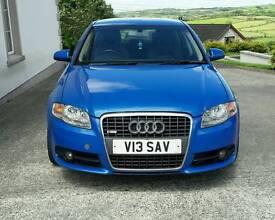 Audi A4 S LINE Sprint Blue 2005