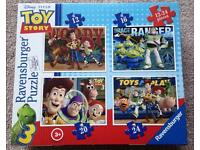 Toy Story 4 puzzles in one box