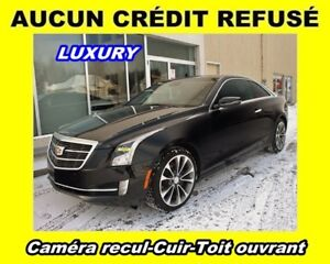 2015 Cadillac ATS COUPE 2.0T AWD *LUXURY* TOIT OUVRANT *RARE!*