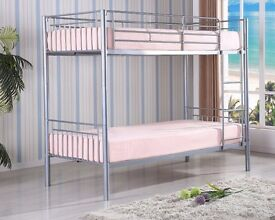 Exclusive OFFER- METAL BUNK BED BOTTOM AND TOP STANDARD SINGLE SIZE 3FT