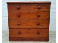 Victorian Chest Of Drawers (DELIVERY AVAILABLE FOR THIS ITEM OF FURNITURE)