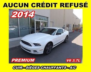 2014 Ford Mustang Premium*cuir,bluetooth - a/c*V6 3.7L*