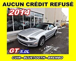 2014 Ford Mustang CONVERTIBLE* GT 5.0L*BREMBO*CUIR*
