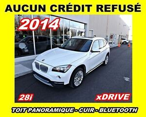 2014 BMW X1 xDrive28i*toit panoramique*2.0L turbo*