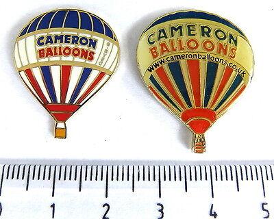 BALLON Pin / Pins - CAMERON BALLOONS / G-BVSO 2 PINS!!!!!!!!!!  [3388]