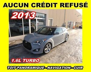 2013 Hyundai Veloster **TURBO**NAVIGATION**TOIT PANORAMIQUE**