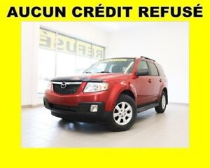 2011 Mazda Tribute 4X4 MAGS CLIMATISEUR *PROGRAMME 100% APPROUVÉ