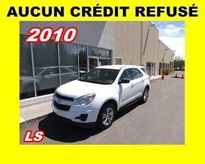 2010 Chevrolet Equinox LS*AUCUN CRÉDT REFUSÉ*