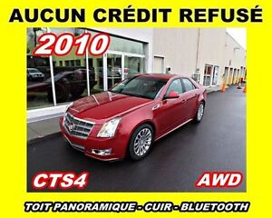 2010 Cadillac CTS AWD*toit panoramique* 30 497 km*