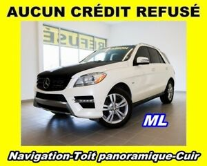 2012 Mercedes-Benz M-Class BlueTEC 4X4 TOIT PANORAMIQUE CUIR *NA