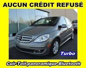 2008 Mercedes-Benz B-Class * TURBO * CUIR * TOIT PANORAMIQUE * B