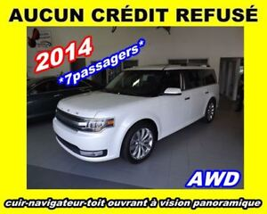 2014 Ford Flex ***Limited**AWD, Nav, Cuir, Toit panoramique
