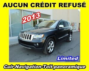 2013 Jeep Grand Cherokee **Limited**Cuir**Nav**Toit panoramique