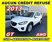 2013 Mazda CX-5 **GT**AWD,Navigation,Toit ouvrant,Cuir**