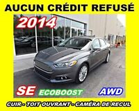 2014 Ford Fusion **AWD, Cuir, Toit ouvrant, Navigation**