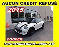 2015 MINI Cooper **Toit panoramqiue, Cuir, Mags**