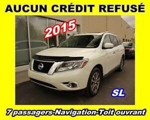 2015 Nissan Pathfinder **SL**7 passagers**Navigation**Toit ouvra