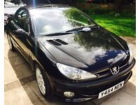 Peugeot 206CC Convertible VERY LOW MILEAGE with AC and one lady owner