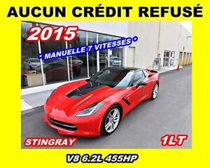 2015 Chevrolet Corvette Stingray*1LT*455HP*manuelle 7 vitesses*