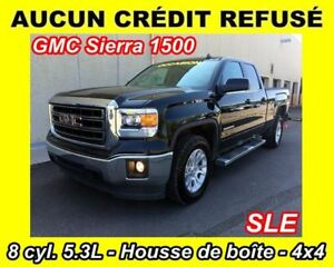 2014 GMC Sierra 1500 SLE**CAB DOUBLE**5.3L**4X4**EZ-LIFT**WOW**