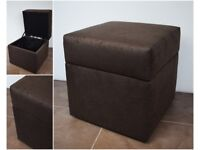 NEW Square poufs opened- MIKROFAZA fabric stool footstool hoker different colors 40x40cm
