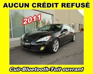 2011 Hyundai Genesis Coupe **Cuir**Bluetooth**Toit ouvrant