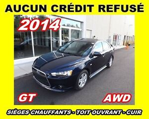 2014 Mitsubishi Lancer GT *AWD*cuir,toit ouvrant*