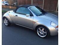 FORD STREET KA LUXURY CONVERTIBLE**12 MONTHS MOT FEBRUARY 2018**SERVICE HISTORY**ONLY 72K MILEAGE**
