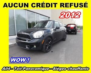 2012 MINI Cooper S Countryman **Cuir**Bluetooth**Toit ouvrant