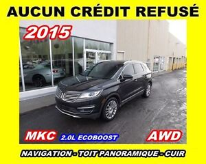 2015 Lincoln MKC **AWD, Toit panoramique, Navigation, Cuir**