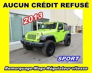 2013 Jeep Wrangler **Sport**Remorquage**Mags**Régulateur vitesse