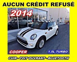 2014 MINI Cooper Cooper*cuir,toit ouvrant*