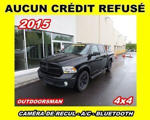 2015 Ram 1500 OUTDOORSMAN*ALL BLACK * BIEN ÉQUIPÉ*