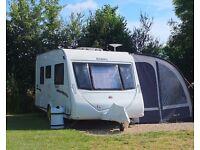 Excellent condition fully fitted 2 berth Elddis Advante touring caravan