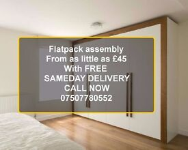 flatpack assembly with Free Same day Delivery saving you £40 T&C's apply call or Text: 07507780552
