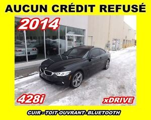 2014 BMW 428i **XDrive,Cuir rouge,Mags,Toit ouvrant**