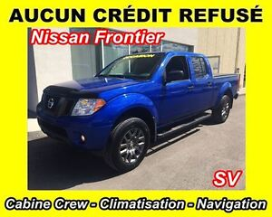2012 Nissan Frontier SV Crew Cab 4x4 (A5) **WOW**