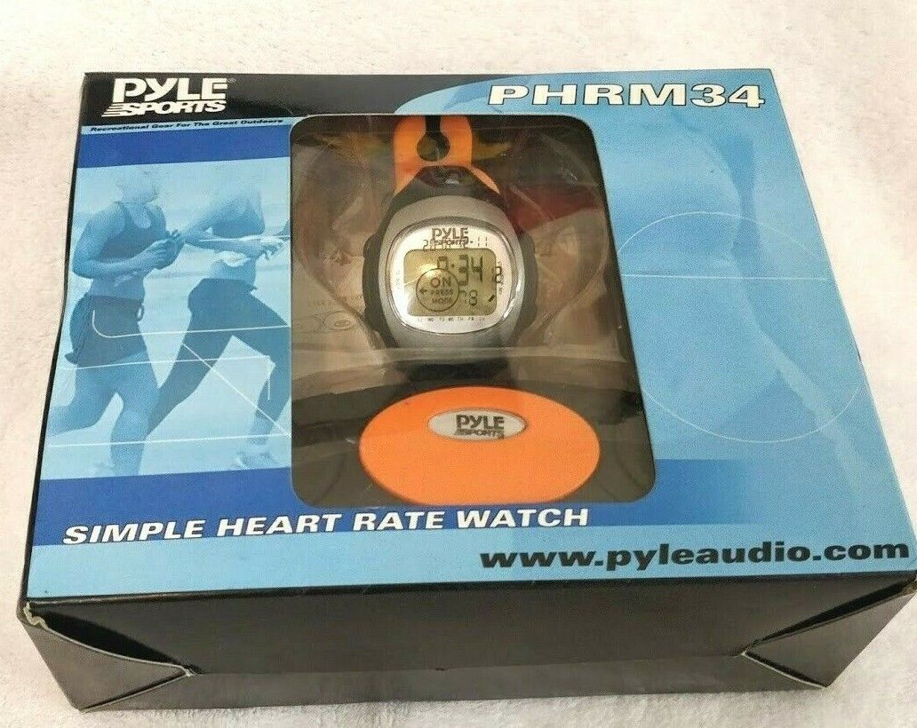 phrm34 heart rate monitor watch and chest